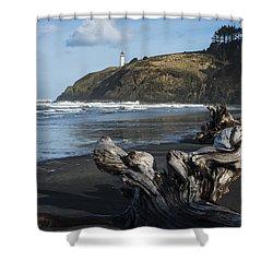 Benson Beach And North Head Shower Curtain