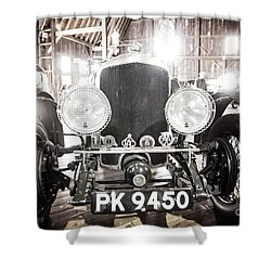 Shower Curtain featuring the photograph Bentley by Randall Cogle