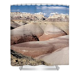 Bentonite Mounds Shower Curtain