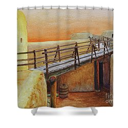 Bent's Old Fort Shower Curtain