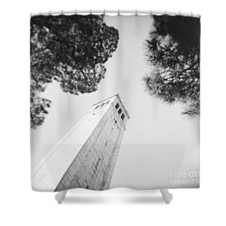 Berkley Campanile Shower Curtain