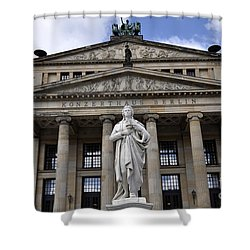 Berlin 4 Shower Curtain