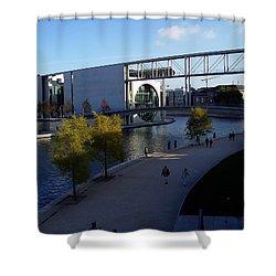 Berlin II Shower Curtain
