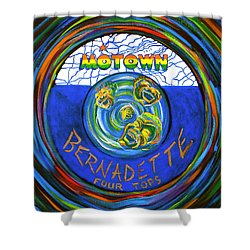 Bernadette By Four Tops Shower Curtain by Jeanette Jarmon
