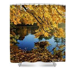 Bernharts Dam 15-244 Shower Curtain