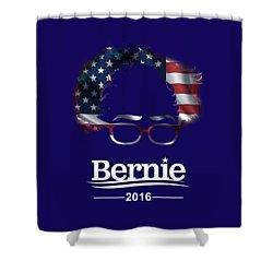 Bernie Sanders 2016 Shower Curtain