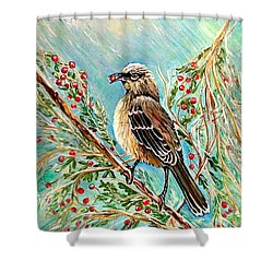 Berry Picking Time Shower Curtain
