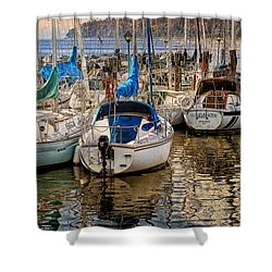 Berthed Shower Curtain