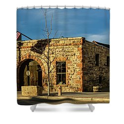 Berthoud Museum Shower Curtain