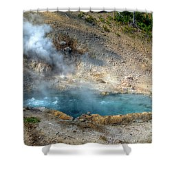 Beryl Hot Springs, Ynp Shower Curtain
