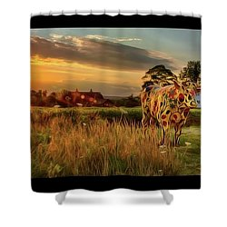 Shower Curtain featuring the photograph Bessie by Mark Fuller