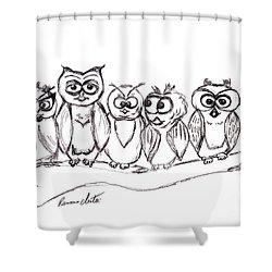 Best Buddies Shower Curtain by Ramona Matei