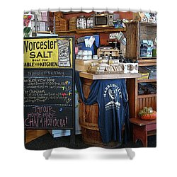Shower Curtain featuring the photograph Best Cafe by Betsy Zimmerli