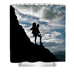 Best Foot Forward Shower Curtain