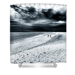 Best Friends Forever Shower Curtain by John Rizzuto