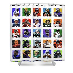 Best Of Nfl Shower Curtain