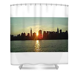 Best Place I've Ever Been ❤ #newyork Shower Curtain