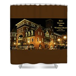 Best Western Plus Windsor Hotel - Christmas -2 Shower Curtain