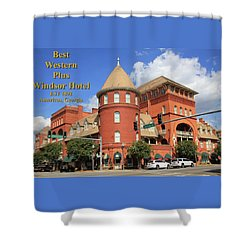 Best Western Plus Windsor Hotel Shower Curtain