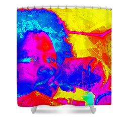 Look Above Hopelessness Shower Curtain