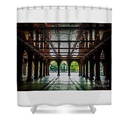 Bethesda Terrace Arcade 2 Shower Curtain