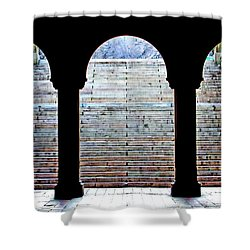 Bethesda Terrace Arcade Shower Curtain