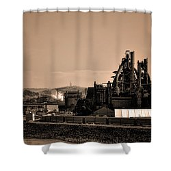 Bethlehem Steel Shower Curtain by Bill Cannon