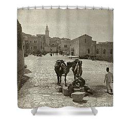 Bethlehem: Street, C1911 Shower Curtain by Granger