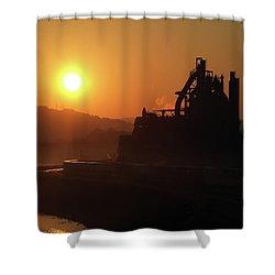 Bethlehem Sunrise Shower Curtain