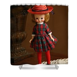 Betsy Doll Shower Curtain