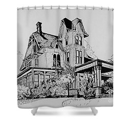 Betsy Ross' Home In Dover, N.j. Shower Curtain by Alan Johnson