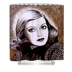 Bette Davis 1941 Shower Curtain
