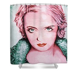 Bette Davis Shower Curtain