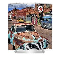 Better Days Shower Curtain by Gina Savage