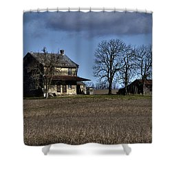 Shower Curtain featuring the photograph Better Days by Robert Geary