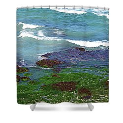 Between Bondi And Coogee No. 18-1 Shower Curtain