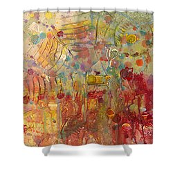 Between Heaven And Hell Shower Curtain