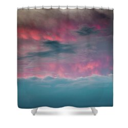 Shower Curtain featuring the photograph Between Mars And Venus by Az Jackson