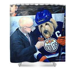 Between Periods Shower Curtain