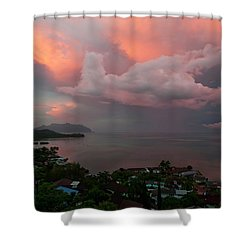Between Rainstorms Shower Curtain
