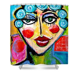 Beulah - Vivid Vixen 2 Shower Curtain
