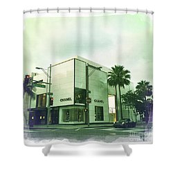 Beverly Hills Rodeo Drive 13 Shower Curtain