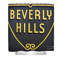 Beverly Hills Sign Shower Curtain