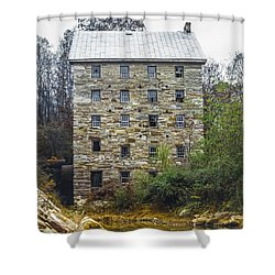Beverly Mill II Shower Curtain