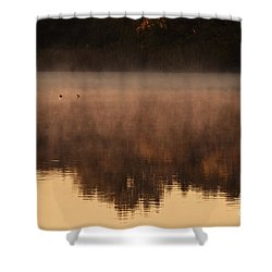 Shower Curtain featuring the photograph Bev's Retreat by Tamyra Ayles