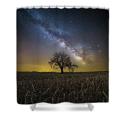 Shower Curtain featuring the photograph Beyond by Aaron J Groen