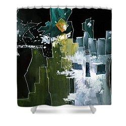 Beyond Horizons Shower Curtain by Anil Nene