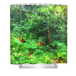 Beyond Narnia Shower Curtain