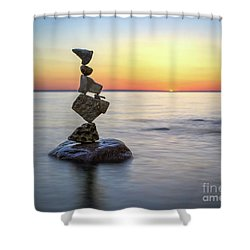 Pain Relief Shower Curtain