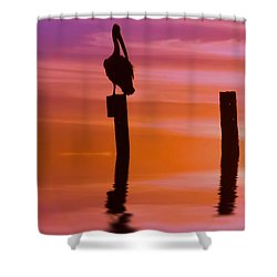 Beyond Reality Shower Curtain